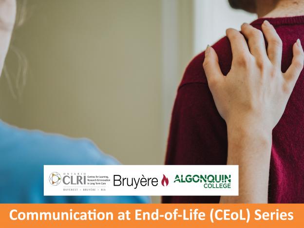 CEoL. Course 1. Communicating about Hospice Palliative Care course image