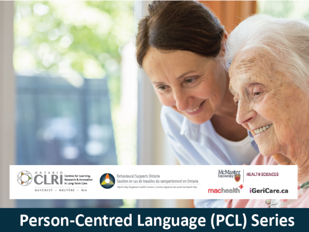 PCL. Implementing Person-Centred Language: An Overview for Long-Term Care Team Leaders and Managers course image