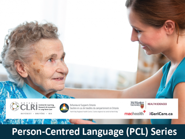 PCL. Person-Centred Language: An Overview for Long-Term Care Team Members course image