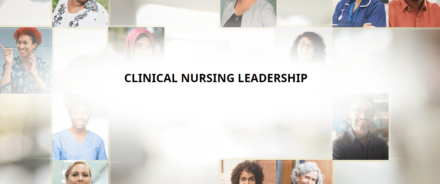 Clinical Nursing Leadership course cover page image